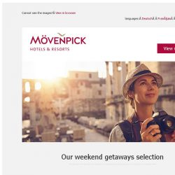 [Mövenpick Hotels & Resorts] What's your plan for the weekend?