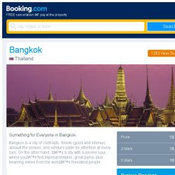 [Booking.com] Last-minute deals from S$ 14 in and around Bangkok