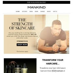 [Mankind] The Strength of Skincare