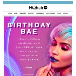 [HQhair] BIRTHDAY BAE