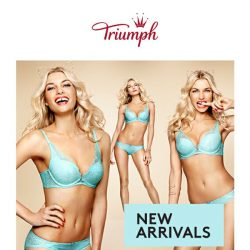 [Triumph] ❤️New Styles To Love!