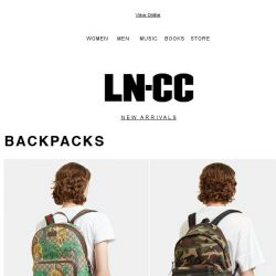 [LN-CC] Bestselling SS17 backpacks & dresses: Fendi / Gucci / Saint Laurent / Valentino / Y-3 / Bedouin