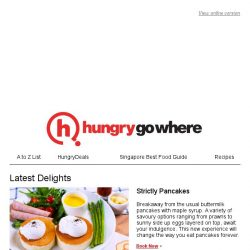 [HungryGoWhere] Discover New Eats & Switch It Up on HungryGoWhere