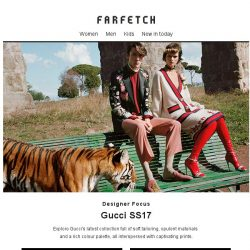 [Farfetch] Gucci | Iconic Italian fashion
