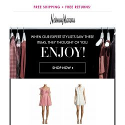 [Neiman Marcus] Attn: You've snagged THIS from Self-Portrait + more