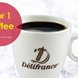 Delifrance: Celebrate Administrative Professionals' Week with 1-for-1 Coffee Promotion!