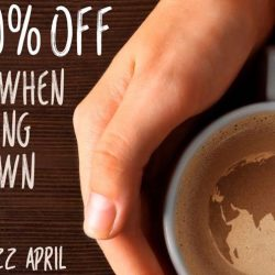 Delifrance: Get 50% OFF coffee when you bring your own mug!