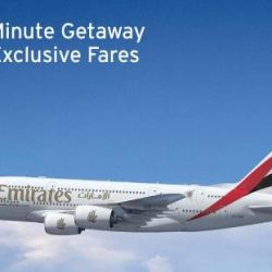 Citi Cards: Enjoy 12% OFF Last Minute Getaway Exclusive Fares to 20 selected destinations on Emirates!