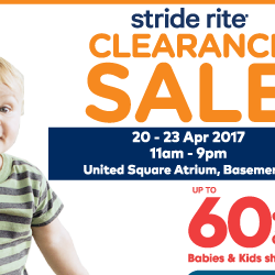 Stride Rite: Atrium Clearance Sale with Up to 60% OFF Kids Shoes, Socks & Accessories