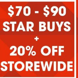 New Balance: Pre-Renovation Sale with $70 - $90 Star Buys & 20% OFF Storewide