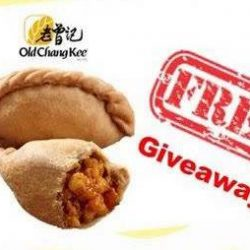 Bedok Point: FREE Curry Puff Today from 6pm!