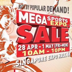 World of Sports: Mega Sports Expo Sale with Up to 90% OFF Footwear, Apparels, Sports Equipment & More