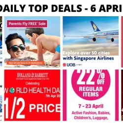 BQ's Daily Top Deals: Jetstar Parents Fly FREE Sale, Mothercare Baby & Kids Fashion Sale, Latest Taxi Codes Updated, Singapore Airlines Special Fares & More!