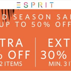 Esprit: Spring SALE starts now - up to 50% OFF selected items!