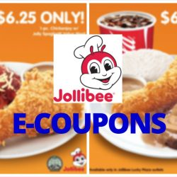 Jollibee: Flash these e-Coupons to enjoy your all-time Jollibee favourites!