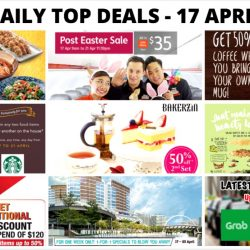 BQ's Daily Top Deals: Latest Taxi Codes, Jetstar Post Easter Sale, 1-for-1 Specials at Waterway Point, 50% OFF Coffee at Delifrance & More!