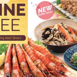 Kiseki Japanese Buffet Restaurant: 1 Dine Free with 2 Paying Adult Diners Promotion Extended!