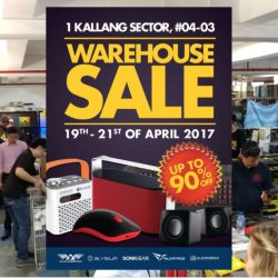 SonicGear: Warehouse Sale with up to 90% OFF gaming peripherals, lifestyle & personal audio devices, audio speakers & more!