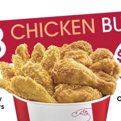 KFC Delivery: 8 pieces of Chicken + 8 pieces of Tenders for only $22!