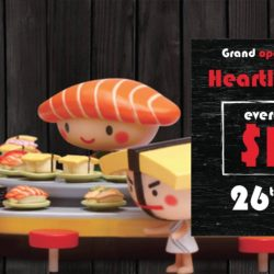 Sushi Express: Opening Promotion at Heartland Mall - $1++ Sushi!