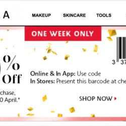 Sephora Singapore: Coupon Code for 10% OFF Your 1st Order