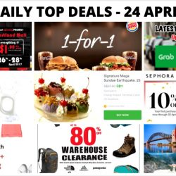 BQ's Daily Top Deals: 1-for-1 Burger King Ultimate Selection Meal Offer, Sushi Express $1 Promo, Outdoor Venture Warehouse Sale, 1-for-1 Coffee at Delifrance & More!