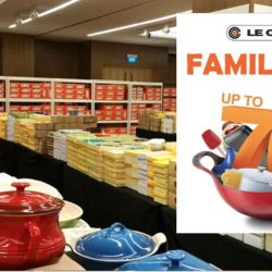Le Creuset: Family Sale with Up to 70% OFF Cookware