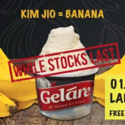 Gelare Café: Celebrate Labour Day with FREE Banana Ice Cream!