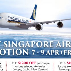 Citi Cards: Get 50% OFF 2nd Pax, Exclusive All-in Airfares from $170 at Chan Brothers Great Singapore Airlines Promotion!