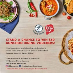 [Shine Korea] Bonchon is a trendy and casual Korean restaurant in Singapore specialising in Korean fried chicken.