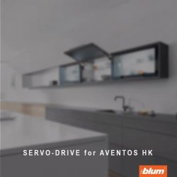[Blum & Co] Blum Solutions for your wall cabinet: AVENTOS HKThe single front that opens upwards is ideal for low and high