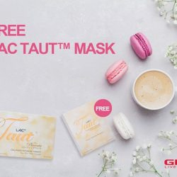 [GNC Live Well Singapore] Enjoy a FREE box of LAC Taut™ Collagen Mask (worth $45.