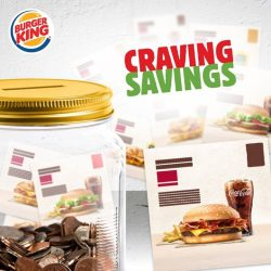 [Burger King Singapore] A is for Awesome, B is for Burger, C is for Craving and D is for… Digital Coupons!