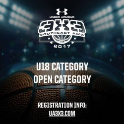 [Under Armour Singapore] UA3x3: This April, we bring you the ultimate 3-on-3 basketball tournament across Singapore, Malaysia, Indonesia and the Philippines.