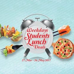 Bedok Mall: Lunch Deals for Students at Ajisen Ramen, Dunkin' Donuts, KFC, Pepper Lunch & More!