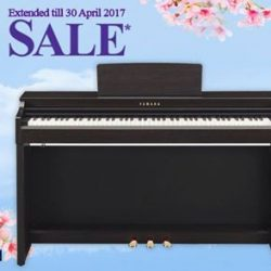 [YAMAHA MUSIC SQUARE] Yamaha Spring Sale Highlight:All the capabilities you want in your first piano, including satisfying touch and tone, make playing