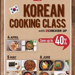 [CHICKEN UP] Our Korean Cooking Class adventure continues.