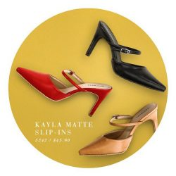 [Heatwave] Slip into a pair of heels that makes you feel good, stand tall, and be ready to conquer the week!