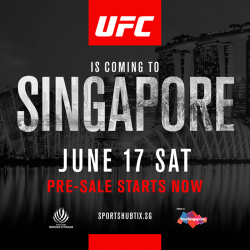 "[Reebok Singapore] The Octagon is coming to ""The Lion City""!"