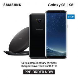 [Best Denki] From now till 20 April 2017, pre-order your all-new Samsung Galaxy S8 | S8+ and receive a complimentary Wireless
