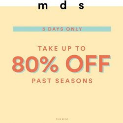 [MDSCollections] Put the GOOD in Good Friday and get 80% off SALE!