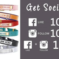 [Nomination Italy] Get Social - Enjoy up to 15% off when you follow us on Facebook and Instagram!