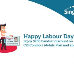 [Singtel] Happy Labour Day!