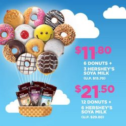 [Dunkin' Donuts Singapore] Up, up and away go your work week blues with these oh-soy-good offers!