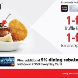 Bakerzin: 1-for-1 Truffles & Banana Split for Exclusively for DBS/POSB Cardmembers