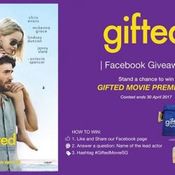 [Filmgarde Cineplex] Stand a chance to win GIFTED movie premiums!