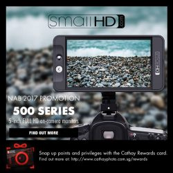 [Cathay Photo] Here's your chance to grab a SmallHD 5-inch Full HD on-camera monitor and its accessories at unbelievable
