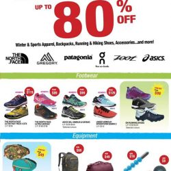 [Running Lab] The Outdoor Venture Warehouse Sale is NOW ON - Check out the Best Buys we have in store for you!