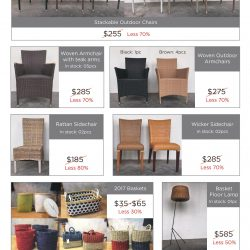 [Arthur Zaaro] Furniture & Accessories Easter Clearance Sale