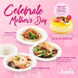 [Hanis Café & Bakery] Mother's Day is on May 14th.